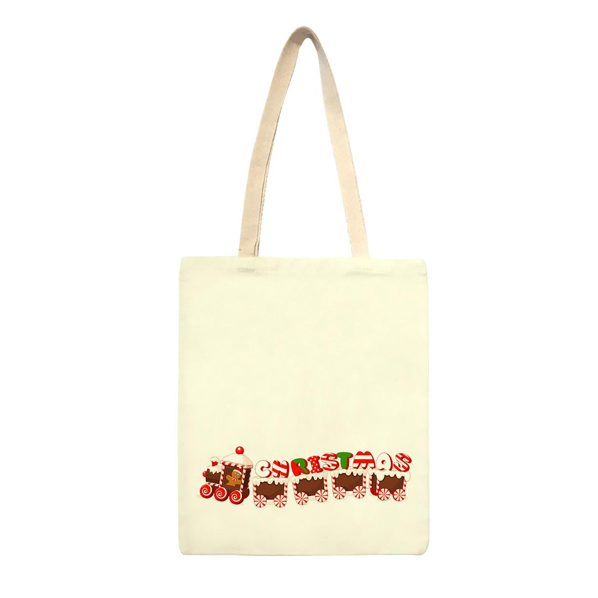 ساک خرید طرح کریسمس کد sk70