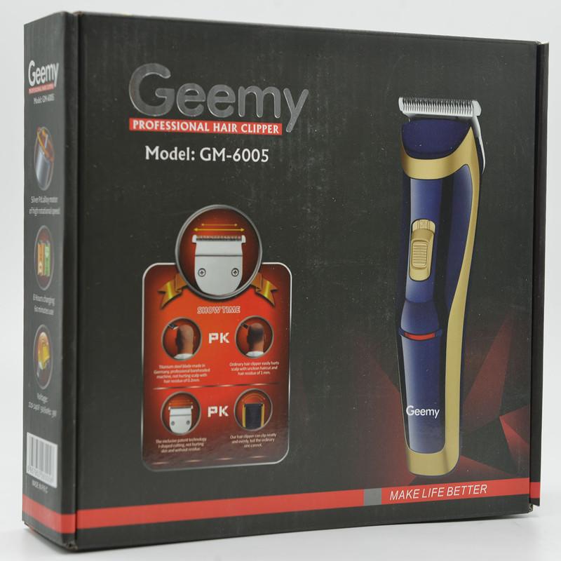 ماشین اصلاح موی بدن و صورت جیمی مدل gm-6005