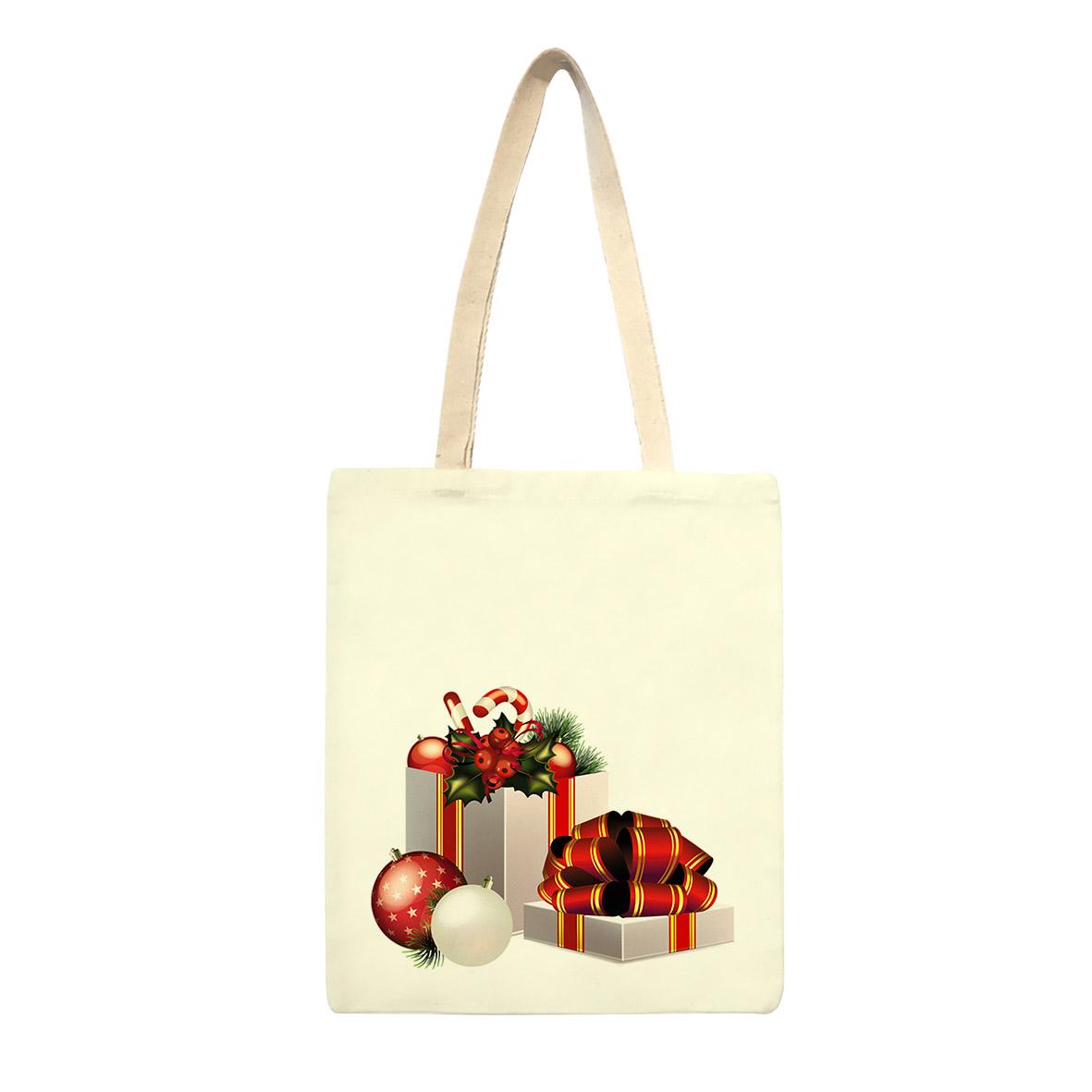 ساک خرید طرح کریسمس کد sk74