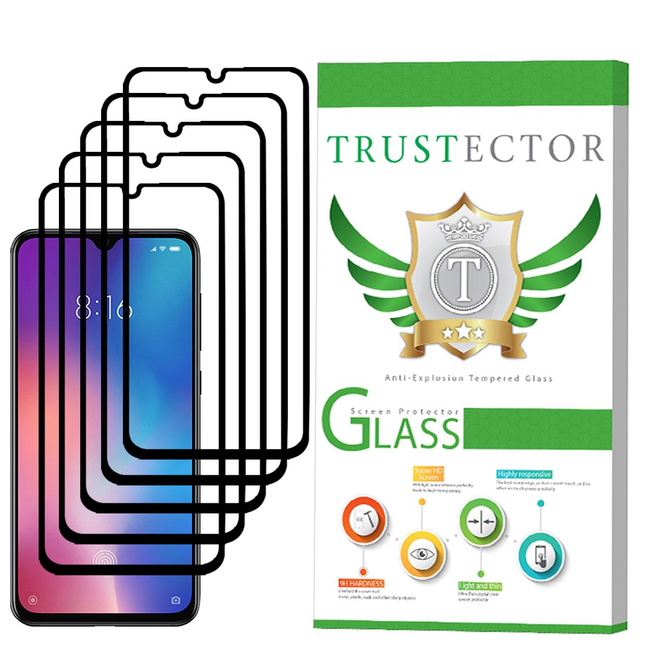 محافظ صفحه نمایش تراستکتور مدل GSS مناسب برای گوشی موبایل شیائومی Mi 9 SE بسته 5 عددی
