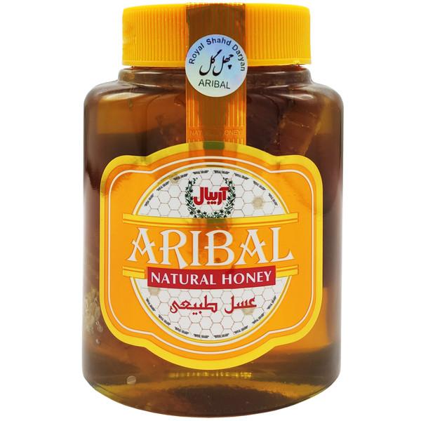 عسل با موم چهل گیاه آریبال - 800 گرم