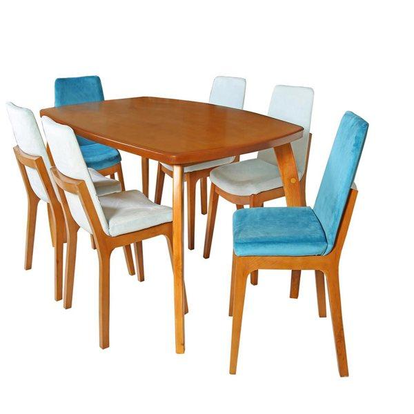 میز و صندلی ناهار خوری چوبکو مدل 689