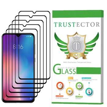 محافظ صفحه نمایش تراستکتور مدل GSS مناسب برای گوشی موبایل شیائومی Mi 9 بسته 5 عددی