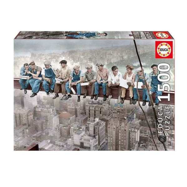 پازل 1500 تکه ادوکا مدل Breakfast in New York کد OYUNPUEDU16009