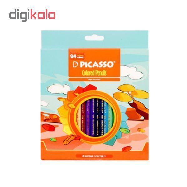 مداد رنگی 24 رنگ پیکاسو مدل fall main 1 1