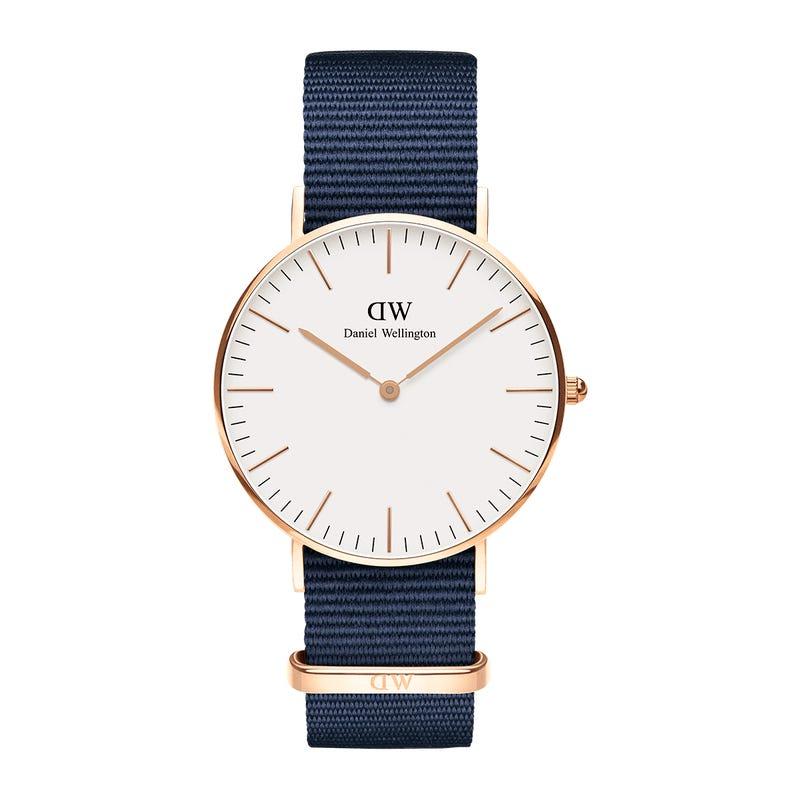 ساعت مچی عقربه ای دنیل ولینگتون مدل CLASSIC BAYSWATER              خرید (⭐️⭐️⭐️)