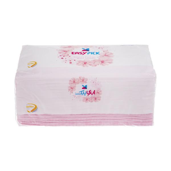 دستمال کاغذی 150 برگ ایزی پیک مدل Flower