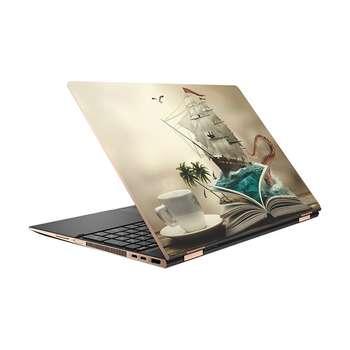 استیکر لپ تاپ طرح Sea کد 02 مناسب برای لپ تاپ 15.6 اینچ
