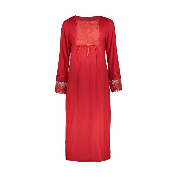 پیراهن بارداری کد 1 رنگ قرمز