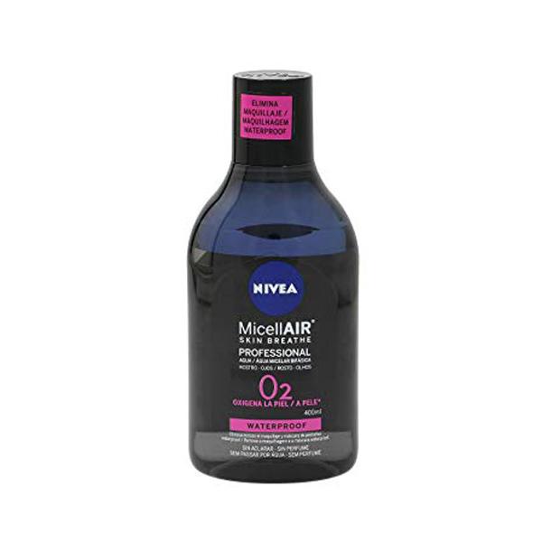 محلول پاک کننده آرایش صورت نیوآ مدل روشن کننده حجم 400 میلی لیتر