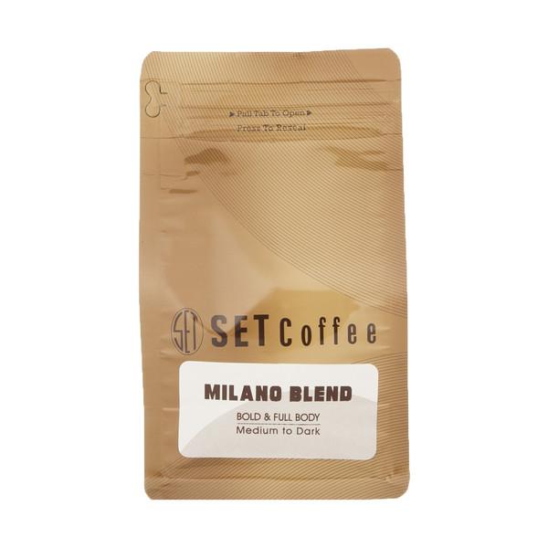 دانه قهوه ست مدل Milano Blend مقدار 250 گرم