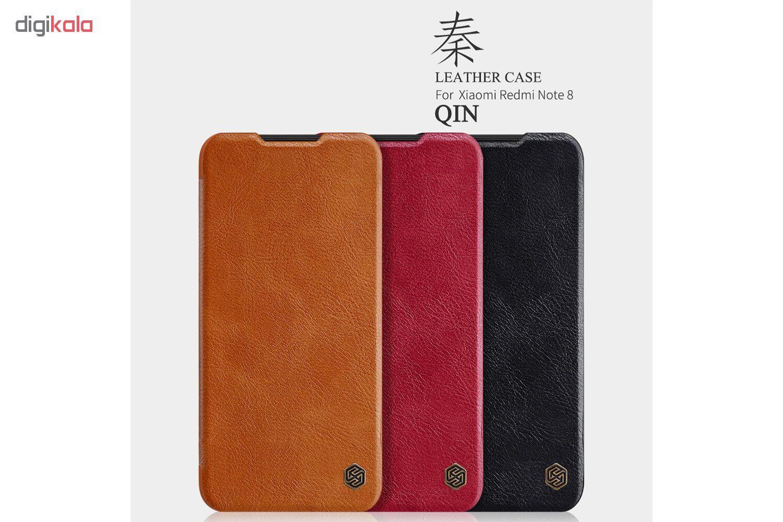 کیف کلاسوری نیلکین مدل QIN مناسب برای گوشی موبایل شیائومی Redmi Note 8 main 1 5