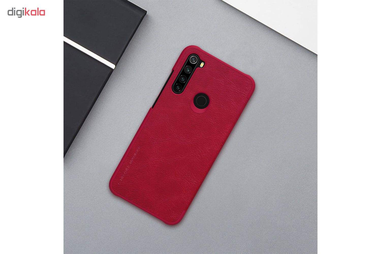 کیف کلاسوری نیلکین مدل QIN مناسب برای گوشی موبایل شیائومی Redmi Note 8 main 1 2