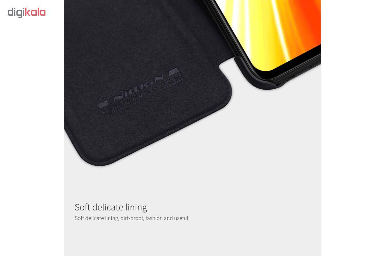 کیف کلاسوری نیلکین مدل QIN مناسب برای گوشی موبایل شیائومی Redmi Note 8 main 1 8