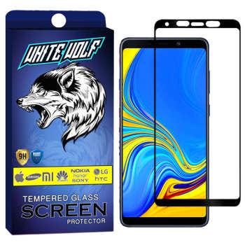 محافظ صفحه نمایش وایت ولف مدل WGF مناسب برای گوشی موبایل سامسونگ Galaxy A9 2018