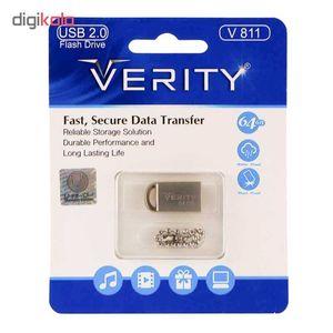 فلش مموری وریتی مدل V811 ظرفیت 64 گیگابایت  Verity V811 Flash Memory 64GB