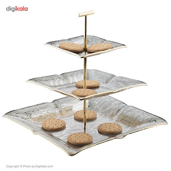 شیرینی خوری لورنزا مدل Saye طرح 3