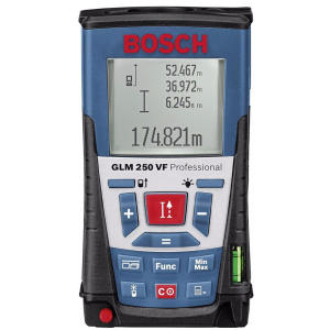 متر لیزری بوش مدل GLM 250 VF + Bt 150