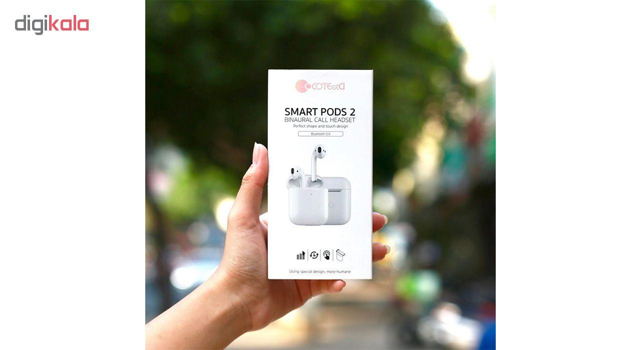 هدفون بی سیم کوتتسی مدل Smart Pods 2