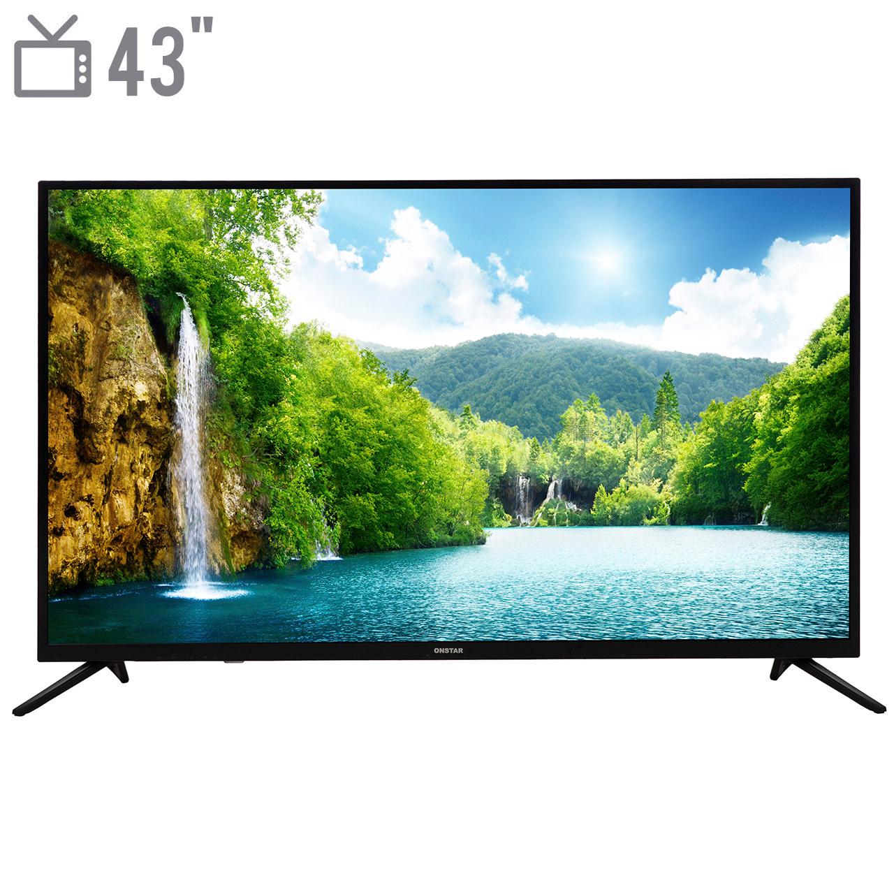 تلویزیون ال ای دی آنستار مدل OS43N9200 سایز 43 اینچ