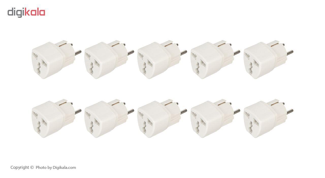 مبدل برق کد 003 بسته 10 عددی main 1 2