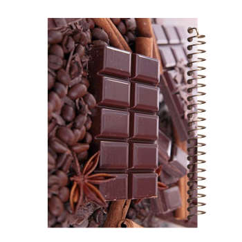 دفتر یادداشت آف تاب شهر طرح شکلات کد 4232