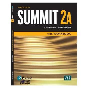 کتاب SUMMIT 2A اثر joan saslow and allen ascher  انتشارات رهنما