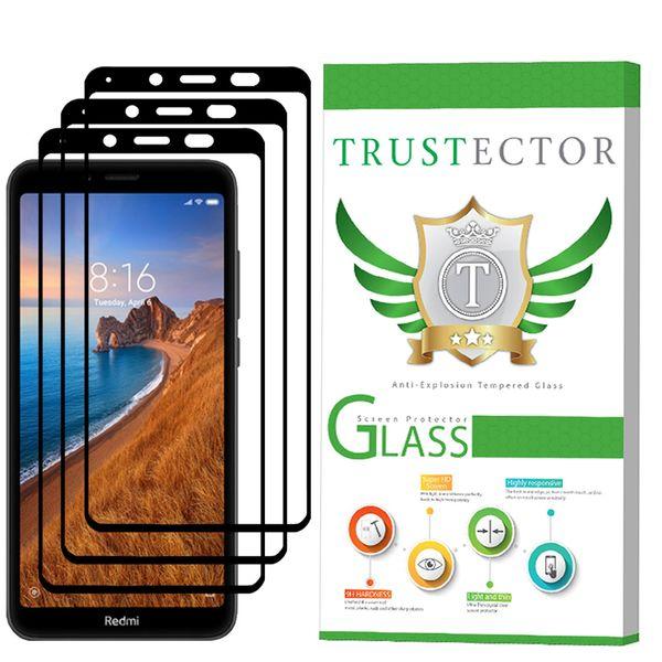 محافظ صفحه نمایش تراستکتور مدل GSS مناسب برای گوشی موبایل شیائومی Redmi 7A بسته 3 عددی