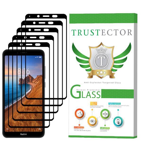 محافظ صفحه نمایش تراستکتور مدل GSS مناسب برای گوشی موبایل شیائومی Redmi 7A بسته 5 عددی