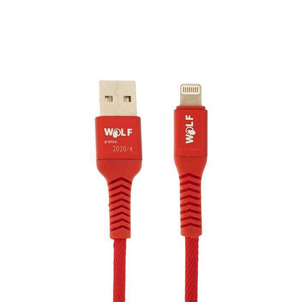 کابل تبدیل USB به لایتنینگ ولف مدل Ds2.4 طول 1 متر