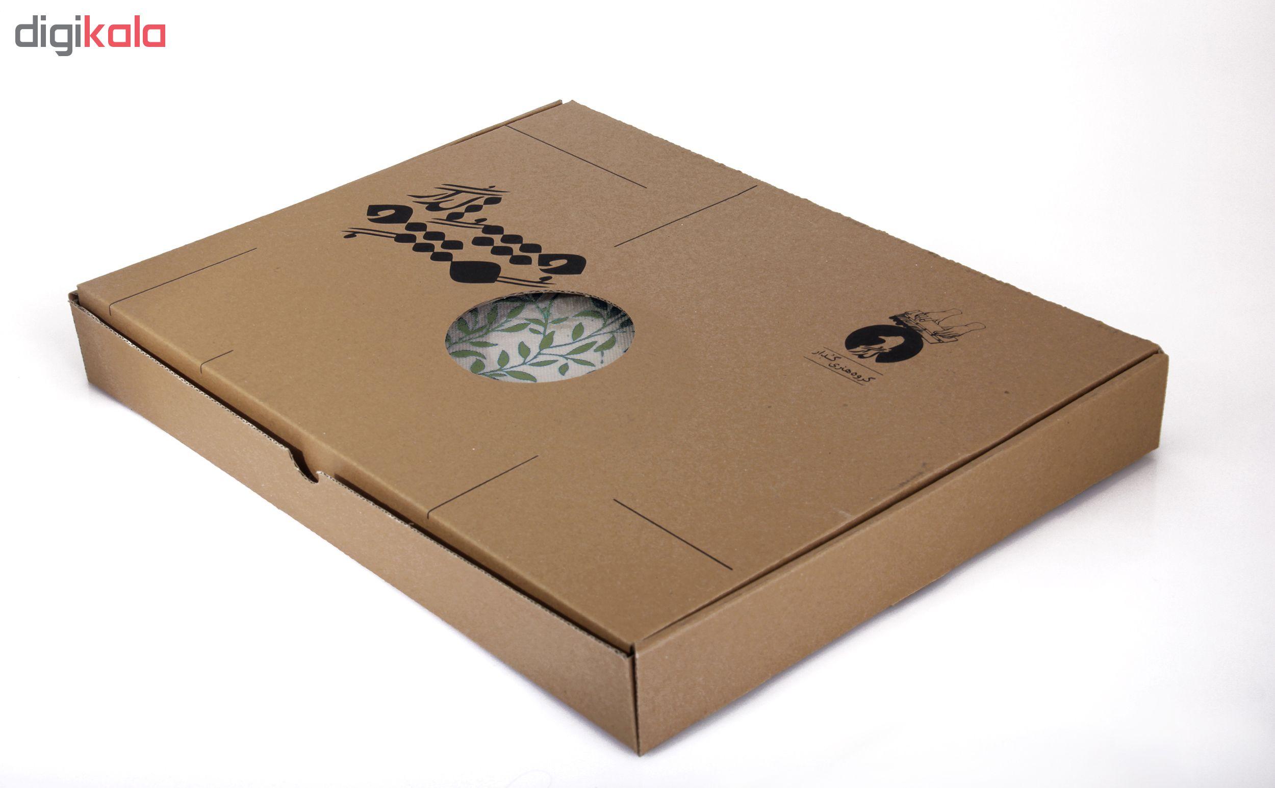 خرید                      رومیزی چاپ دستی گدار مدل ناردون