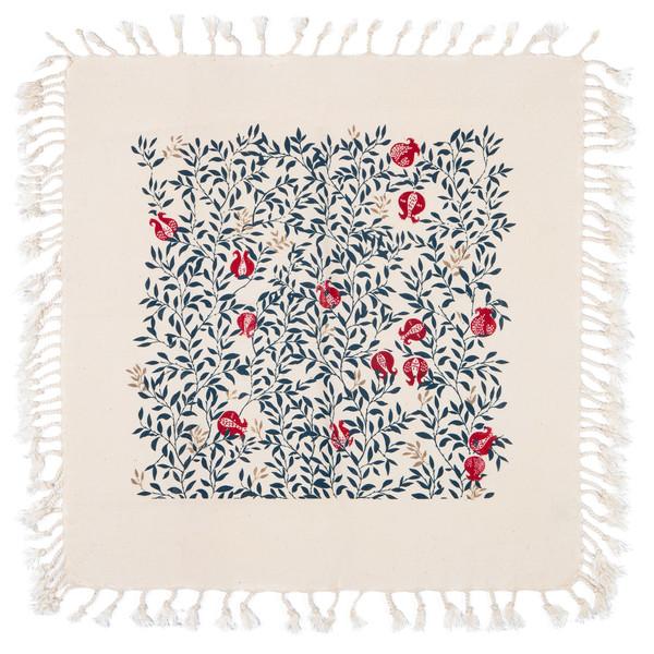 رومیزی چاپ دستی گدار طرح ناردون کد B2