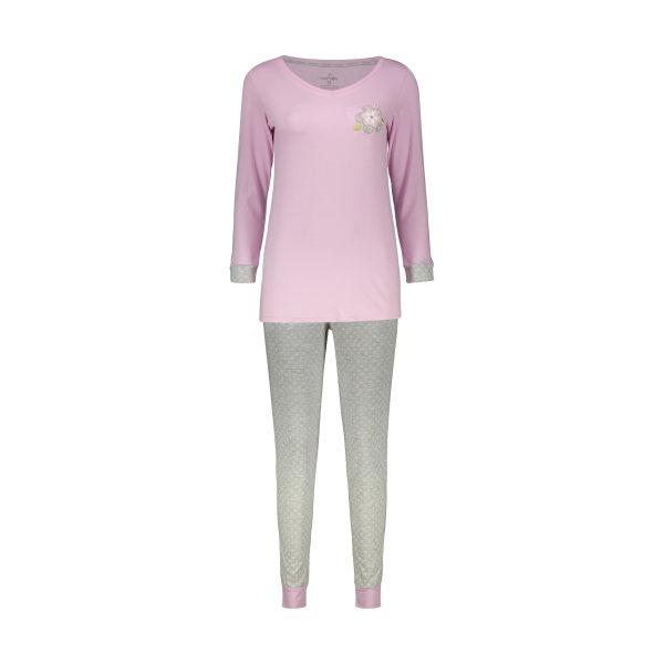 ست تی شرت و شلوار راحتی زنانه ناربن مدل 1521152-84