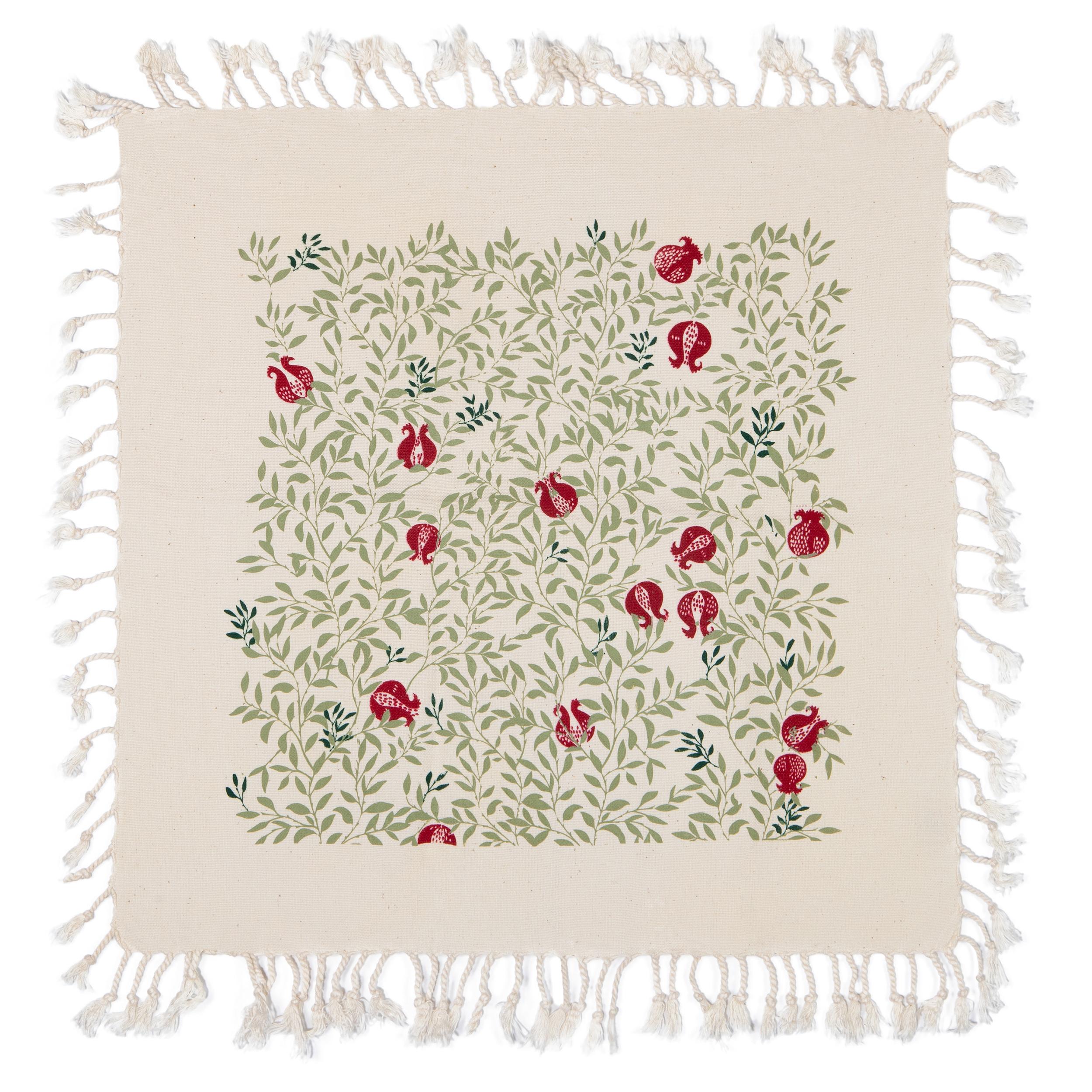 رومیزی چاپ دستی گدار طرح ناردون کد R1