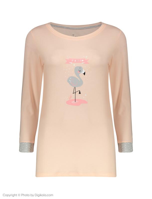 ست تی شرت و شلوار راحتی زنانه ناربن مدل 1521151-21