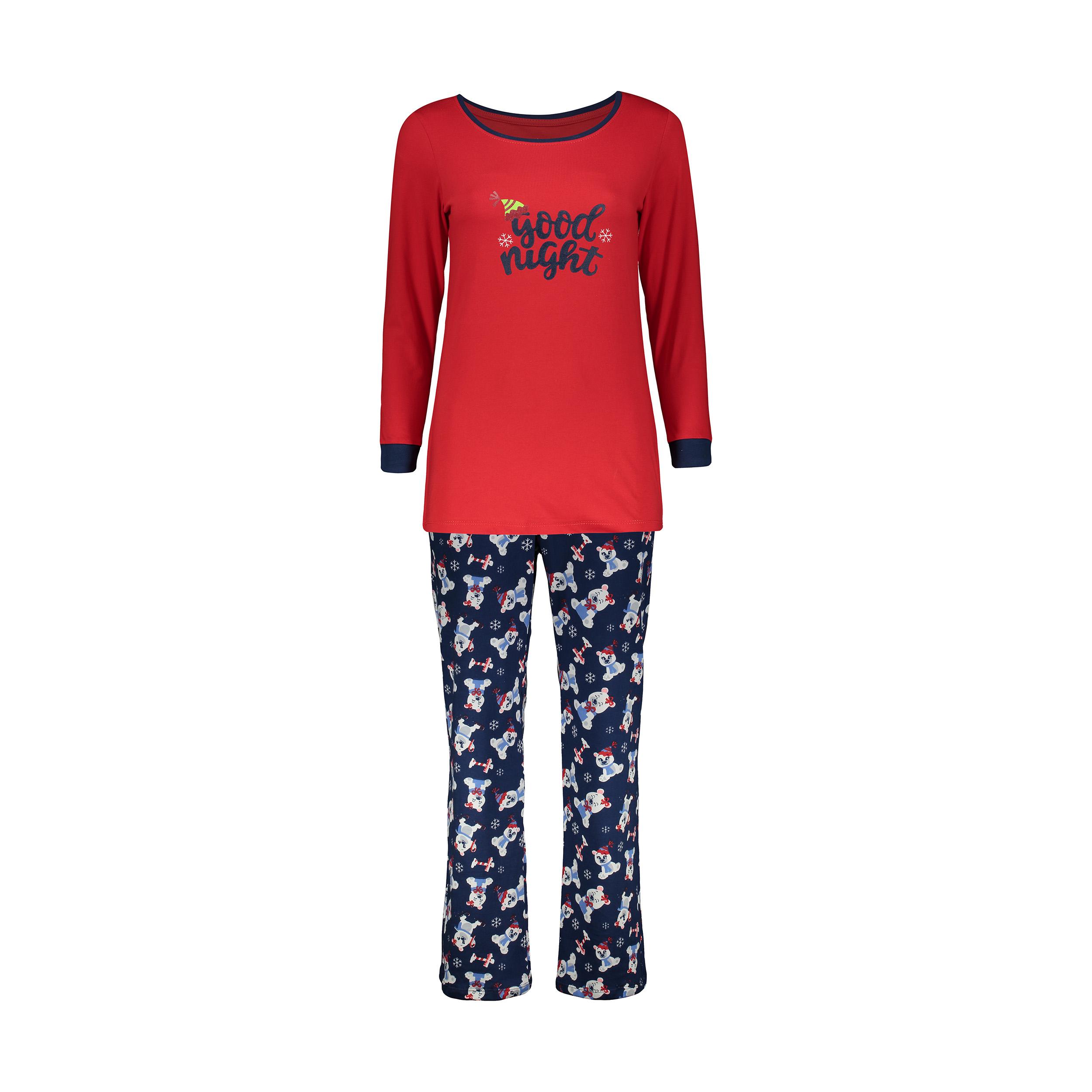 ست تی شرت و شلوار راحتی زنانه ناربن مدل 1521167-72