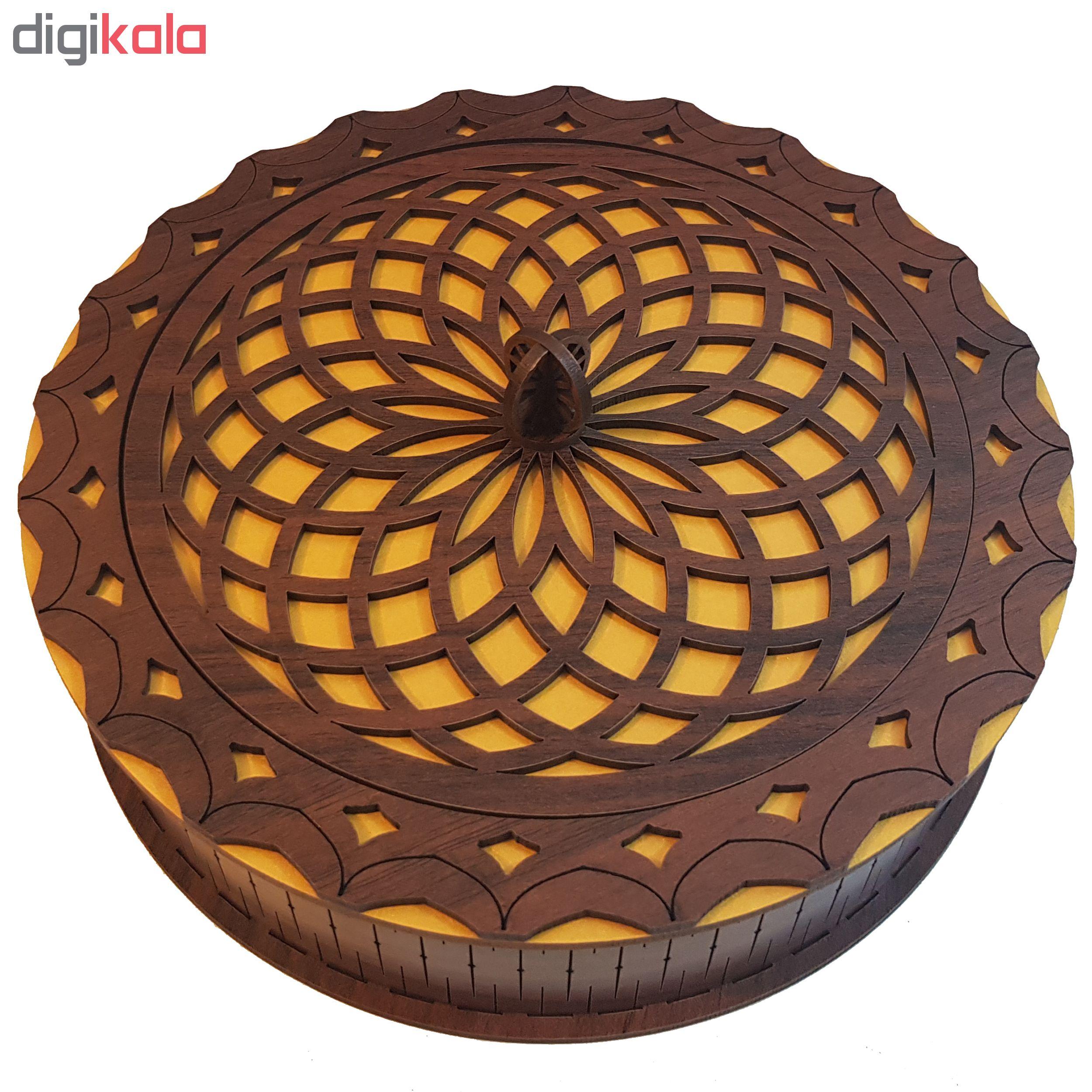 شکلات خوری مدل ماندالا کد mg20