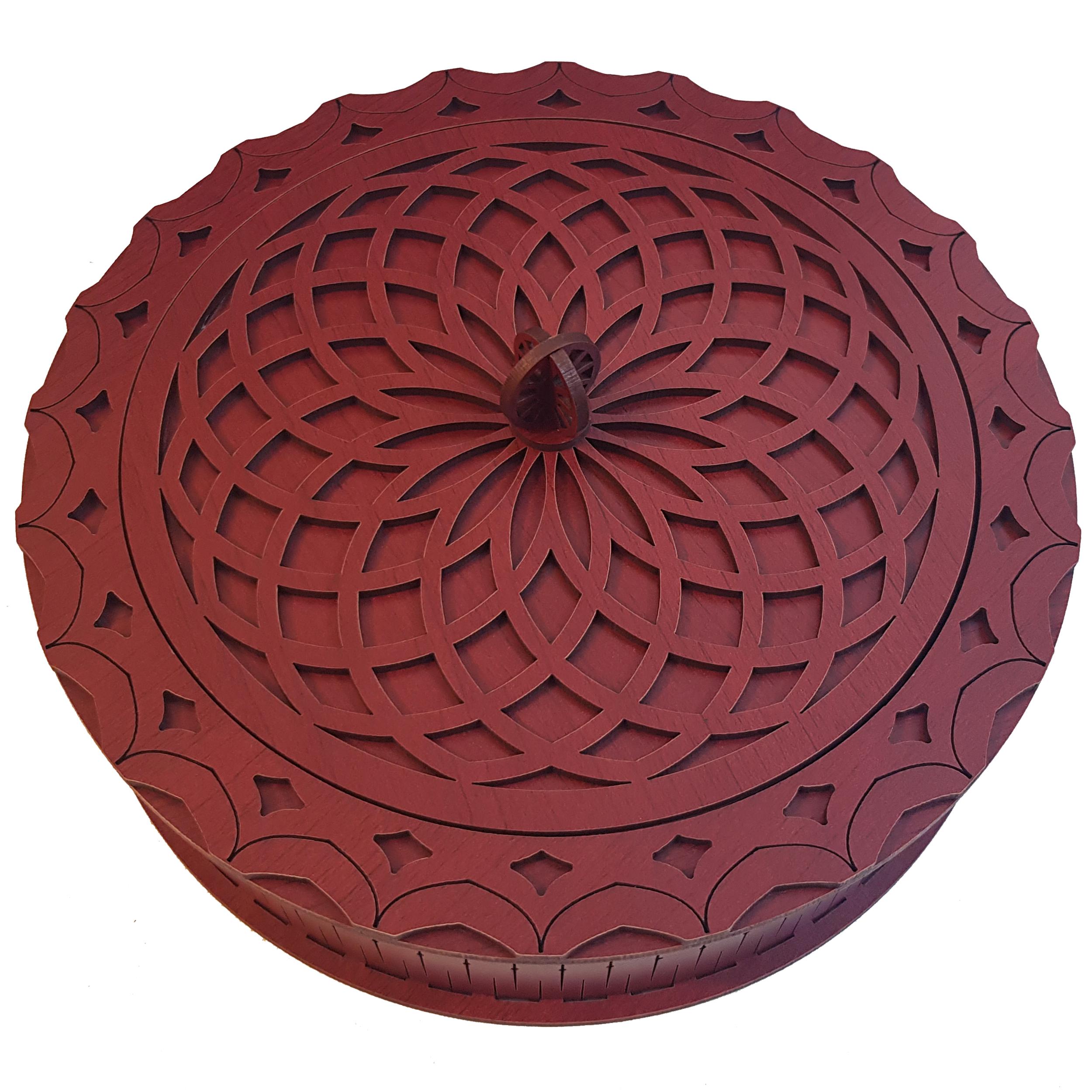 عکس شکلات خوری مدل ماندالا کد mw20