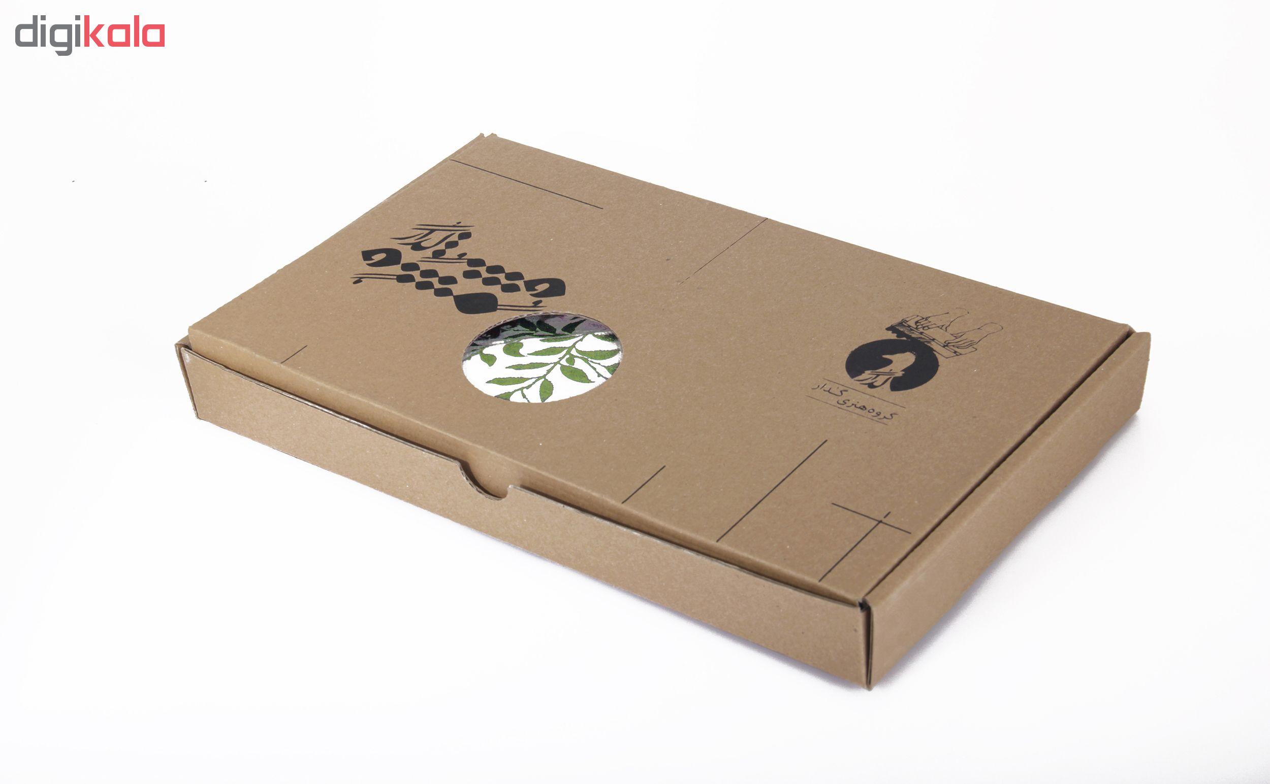 خرید                      رومیزی چاپ دستی گدار مدل ناردون SML02