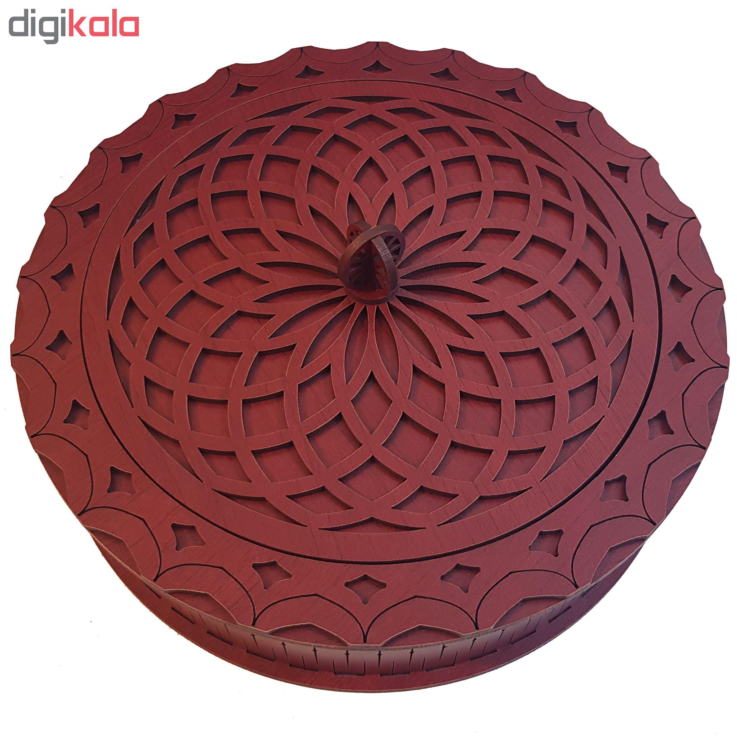 شکلات خوری مدل ماندالا کد mw20