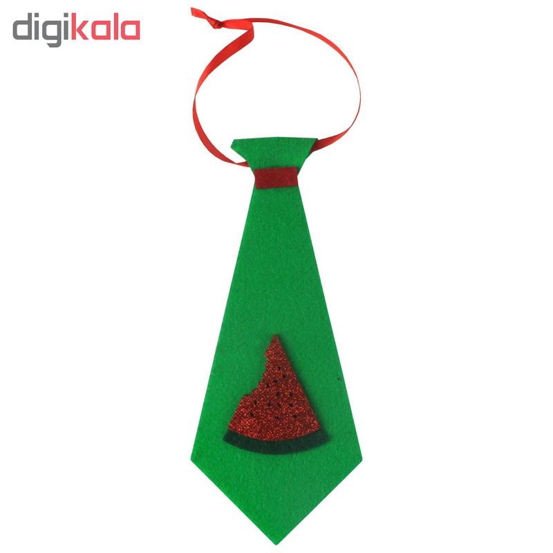 کراوات پسرانه مدل یلدا طرح هندوانه