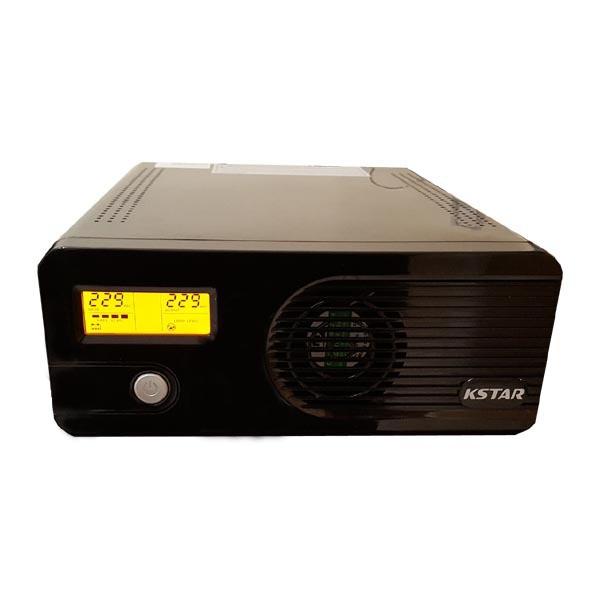 یو پی اس کی استار مدل FS 500 با ظرفیت 500 ولت آمپر باتری خارجی