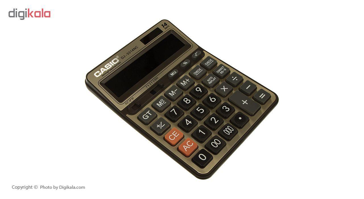 ماشین حساب کاسیک مدل DJ-3314NC main 1 2