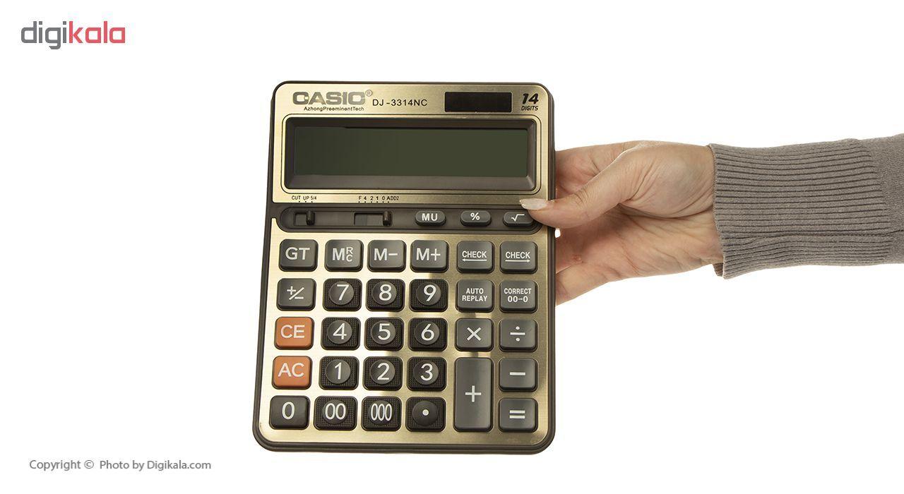 ماشین حساب کاسیک مدل DJ-3314NC main 1 5