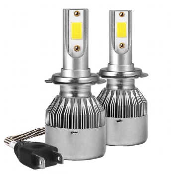 لامپ هدلایت خودرو مدل C9H4 بسته دو عددی