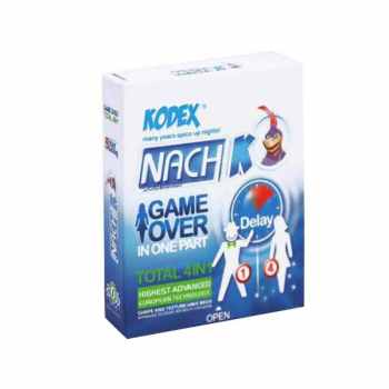 کاندوم ناچ کدکس مدل Game Over بسته 3 عددی