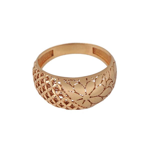 انگشتر طلا 18 عیار زنانه کد G564
