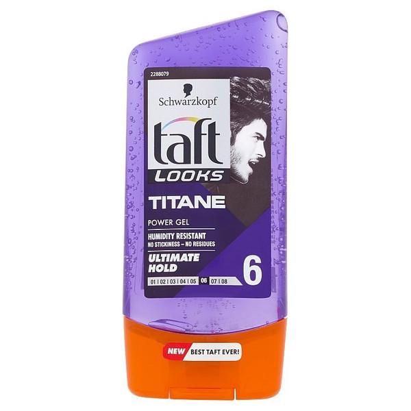 ژل حالت دهنده مو تافت سری Looks مدل Titane حجم 150 میلی لیتر