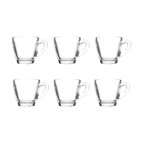 فنجان کاوه مدل CAFE بسته 6 عددی