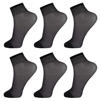 جوراب زنانه پنتی کد RG-PF 15-110 بسته 6 عددی